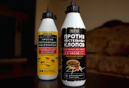 Insecticidal Hector from bed bugs and other insects