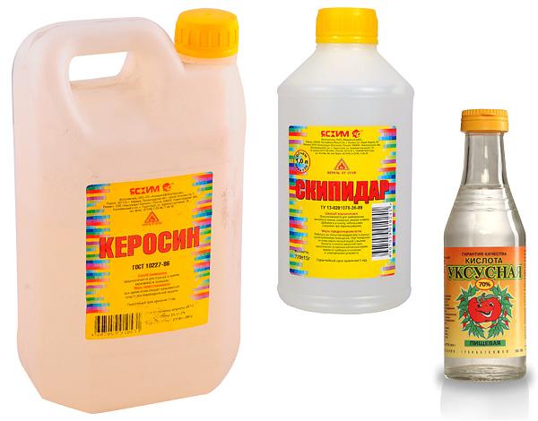 Παραδείγματα λαϊκών θεραπειών για κροκέτες είναι η κηροζίνη, η τερεβινθίνη, το οξικό οξύ.