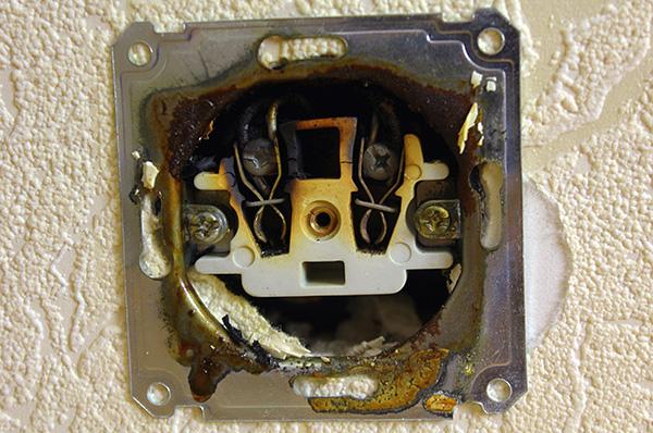 Bedbugs pot intra în apartament de la vecinii lor prin prize electrice.