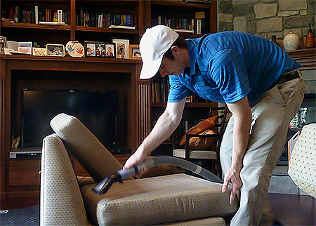 Mechanical methods of dealing with bedbugs are usually ineffective.