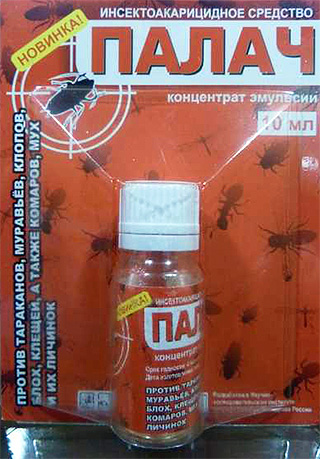 Remedy for domestic bugs Executioner