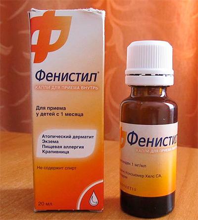 Allergy Medication Fenistil in drops
