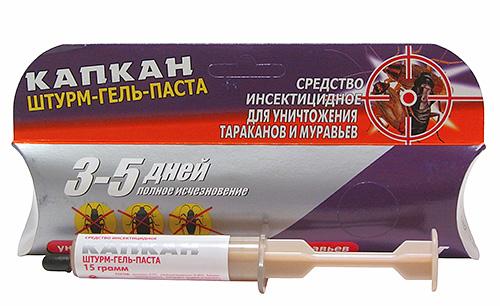 هلام مبيد الحشرات فخ Sturm-gel-paste