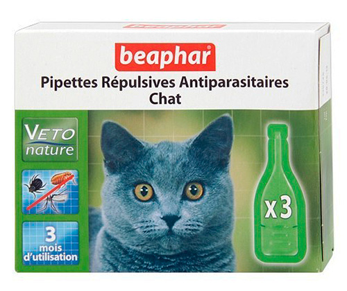 Beaphar: قطرات برغوث للقطط