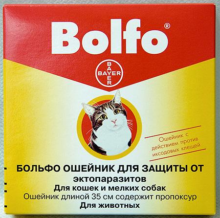 Bolfo - طوق البراغيث للقطط