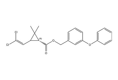 بيرميثرين: التركيب الكيميائي