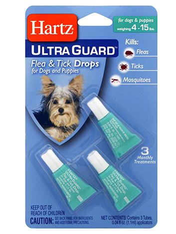 قطرات برغوث للكلاب Hartz Ultra Guard