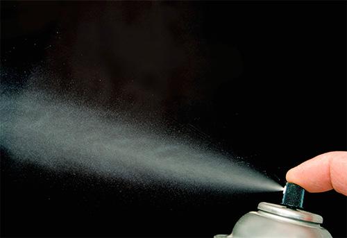 تجعل المبيدات الحشرية من الهباء من الممكن مسح النمل من شقة في وقت قصير.
