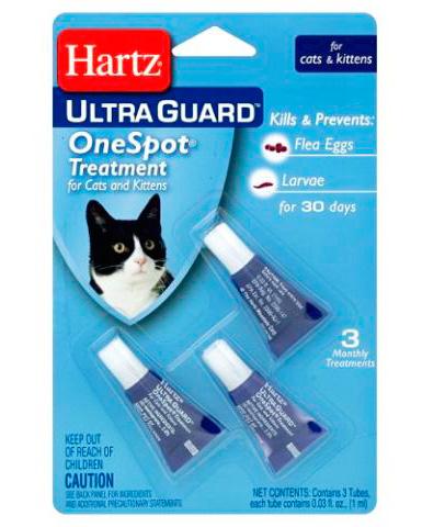 هارتس برغوث قطرات للقطط والقطط
