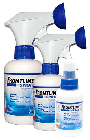 Frontline Flea Sprays