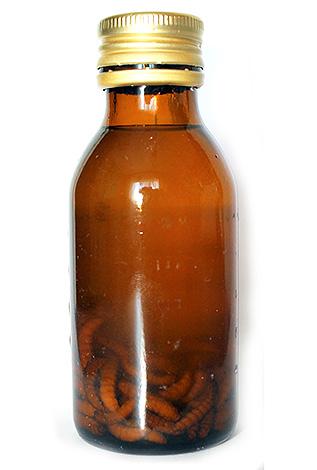 ويعتقد أن المستخلص من يرقات عثة الشمع يحتوي على أنزيم cerraz ، الذي يكسر جدران الخلايا الممرضة.