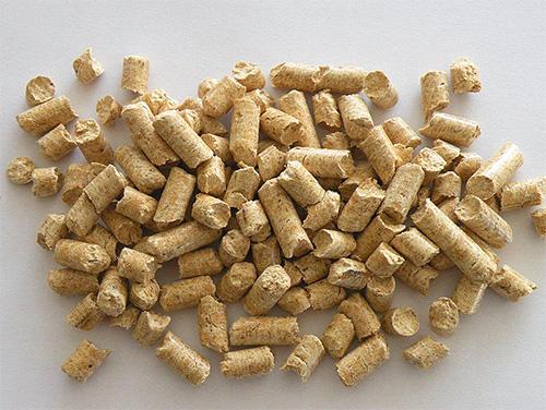 Bedwantsen eten het middel eenvoudigweg niet in pellets.