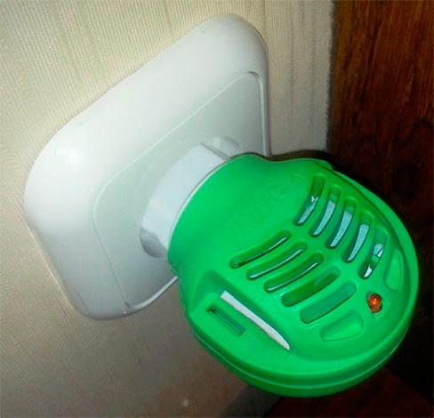 Fumigator de plăci de insecticid