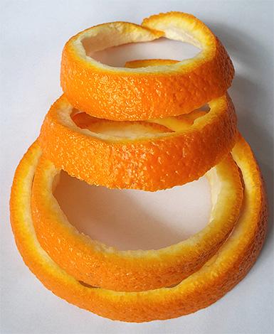 Orange peel must be fresh