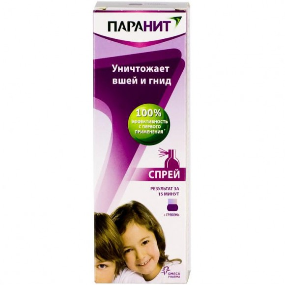 Remedy for lice and nits in children - Paranit