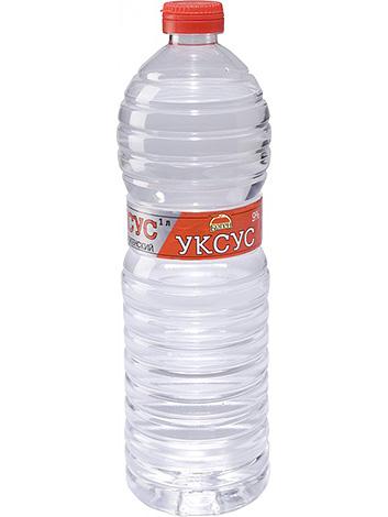 เพื่อเตรียมการแก้ปัญหาสำหรับเหาคุณจะต้องน้ำส้มสายชูตาราง (9%)