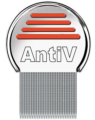 หวี AntiV - เครื่องมือที่มีประสิทธิภาพมากสำหรับการลบเหาและ nits จากผม
