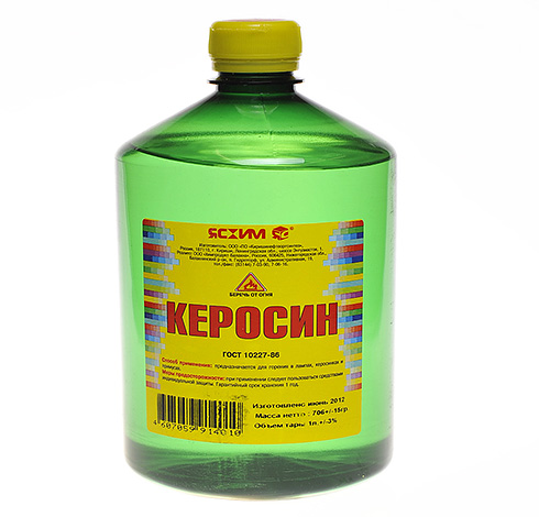 Kerosene, used by grandmothers to combat lice, is very unsafe to use.