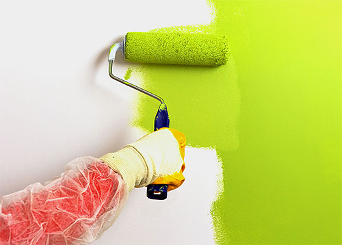 Fleas are also afraid of sharp odors, including the smell of fresh paint.