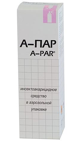 A-Par ละอองที่ใช้กับเหา