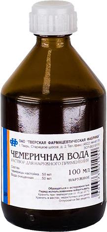 น้ำ Chemerichna จริงๆช่วยในการลบเหาและสามารถใช้ได้ที่ร้านขายยาใด ๆ