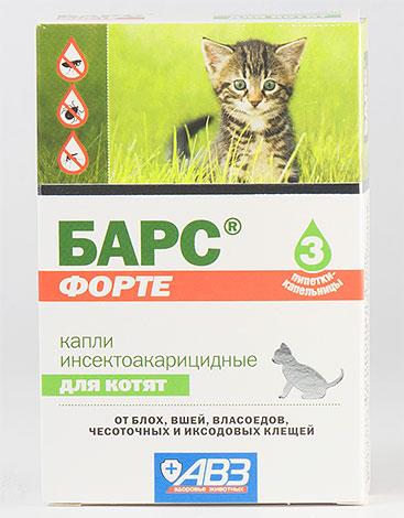 Leopard Forte yavruları için böcek ilacı damla