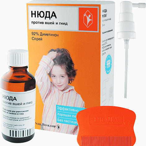 Nuda's remedy does not, in fact, poison lice, but blocks its airway.