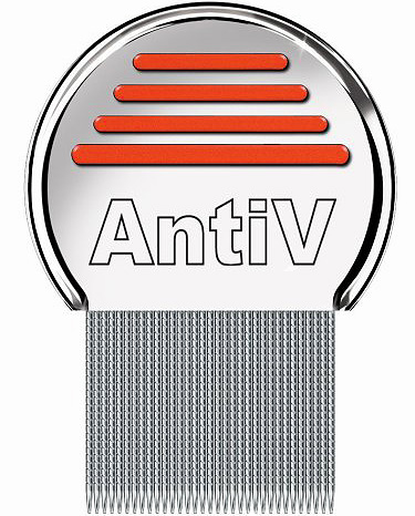 AntiV comb is good for removing lice in people with long and thick hair.