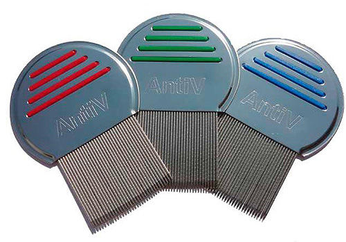 Comb for lice and nits comb AntiV