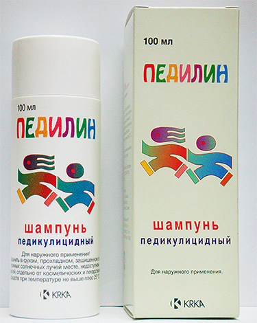 Pedilin works on both lice and nits