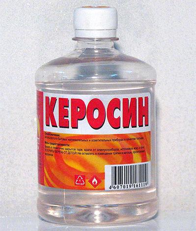 يمكن استخدام الكيروسين كسم من البق أن تكون غير آمنة للغاية.