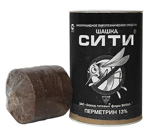 أداة prrotehnicheskoe مبيدات الحشرات - المدقق CITI (البيرميثرين)