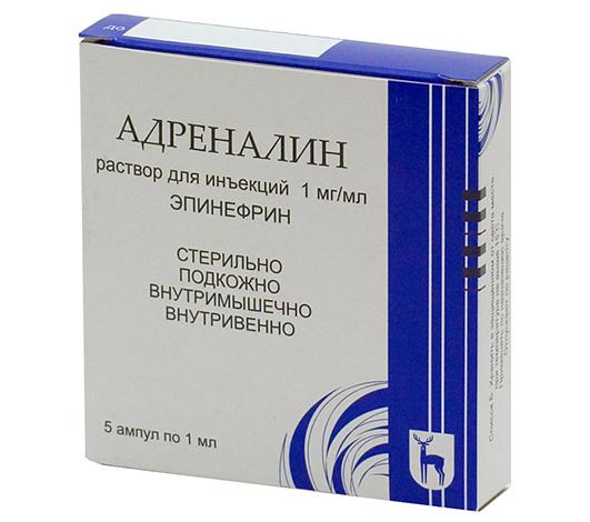 يسمح لك الأدرينالين الموجود في الأمبولات (الإبينفرين) بالتقاط الأعراض الخطيرة للتفاعلات التحسسية الشديدة.