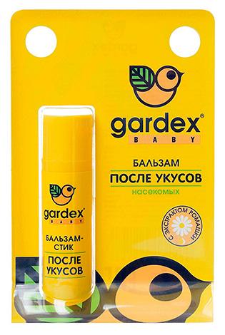 تُظهر الصورة مثالًا على البلسم المستخدم بعد لدغات الحشرات - جاردكس بيبي