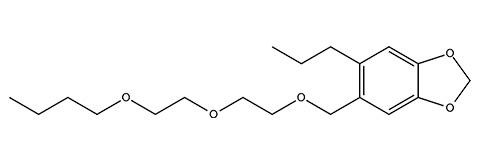 Piperonyl butoxide - 피레스 로이드와 병용하면 시너지 효과를냅니다.