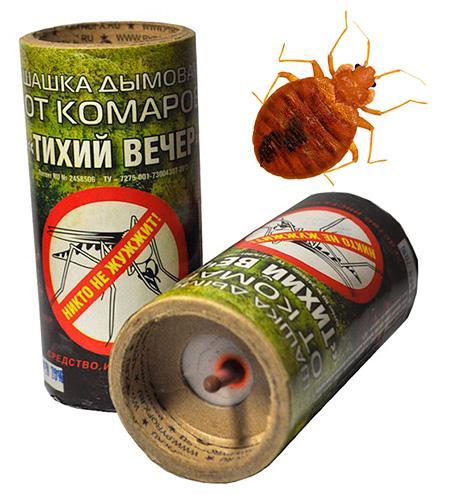 Aflați dacă bombe de fum vă ajută să scăpați de ploșnițe ...