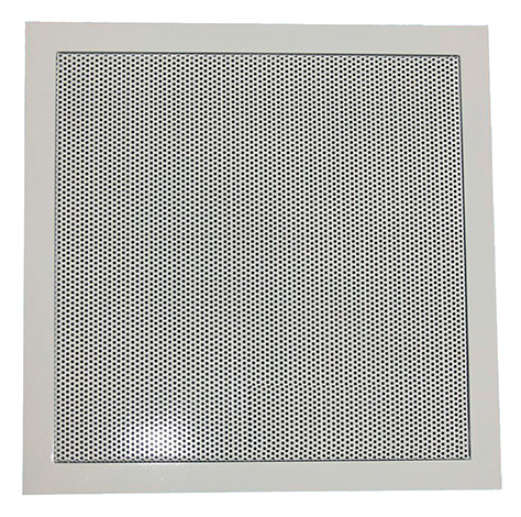To prevent insects from penetrating from neighbors, it is useful to close the ventilation passages with a fine-mesh grille.