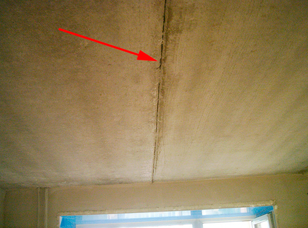 Cracks in the walls, ceiling and floor, too, often allow parasites to move between rooms.