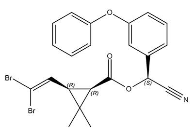 Deltamethrin - الصيغة الكيميائية