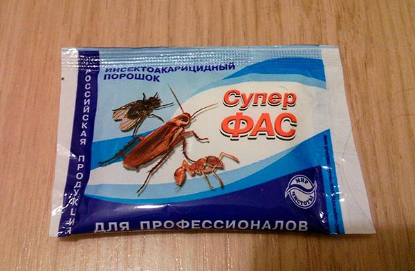 Insektoakaritsidny powder Super Fas