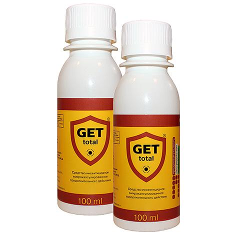Get Total insecticidal drug Get Total effectively eliminates dust mites too.